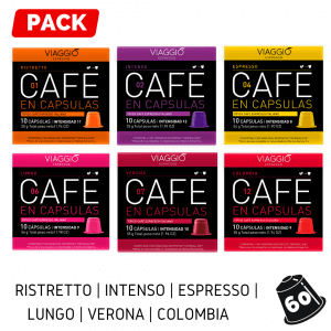 Pack 60 Viaggio Espresso