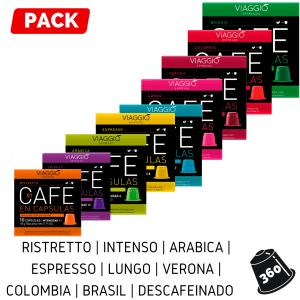 Cápsulas Neespresso - Pack 360