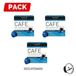 Pack Dolce Gusto Descafeinado 3 Cajas