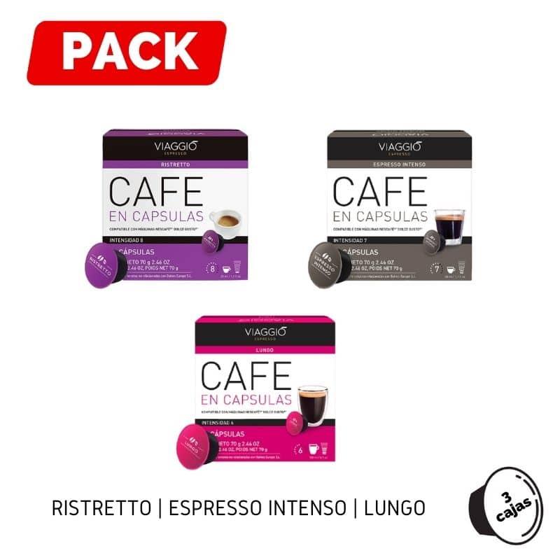 Pack Dolce Gusto Ristretto Espresso Lungo