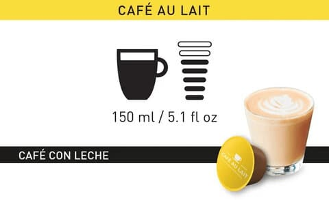 Intensidad Dolce Gusto Cafe con Leche