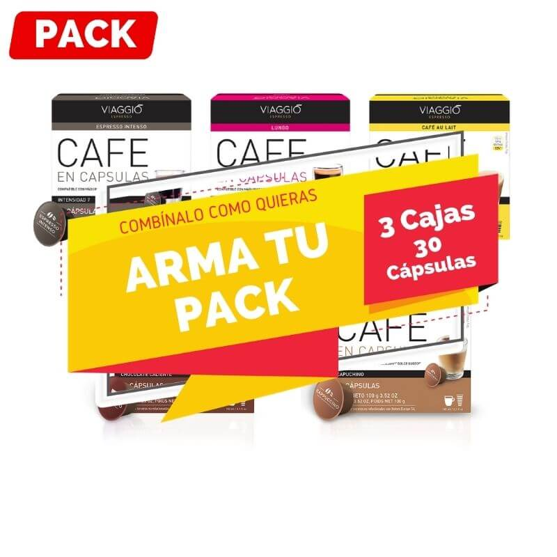 Arma Pack 3 Cajas Dolce Gusto