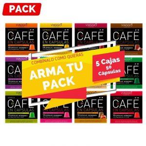Arma Pack 5 Cajas Nespresso