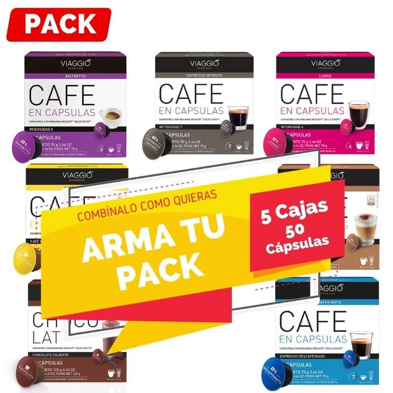 Arma tu Pack Dolce Gusto 5 Cajas