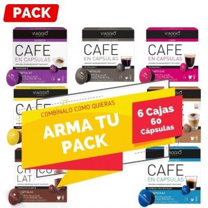 Arma tu Pack Dolce Gusto 6 Cajas
